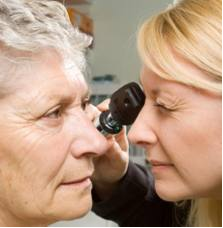 Macular Degeneration Eye Test